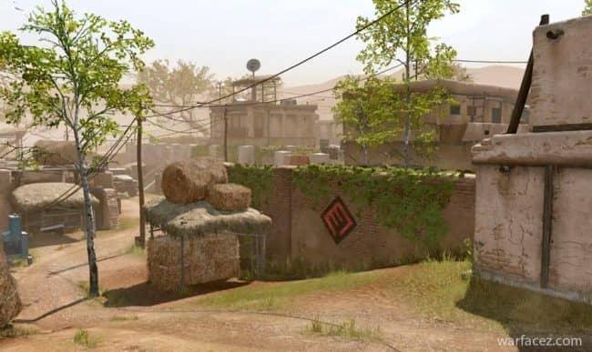 Карта пригород в Warface
