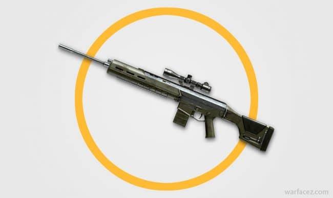 Снайперская винтовка ACR SPR в Warface