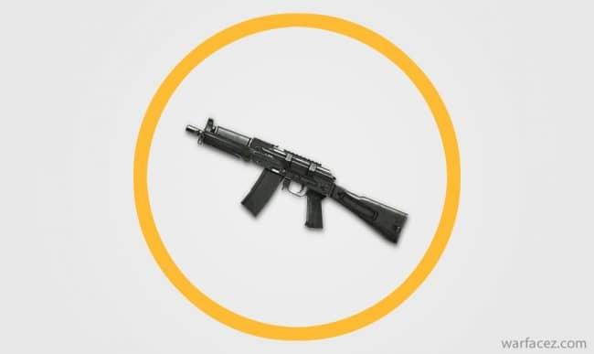 Пистолет-пулемёт инженера АК‐9 - Warface