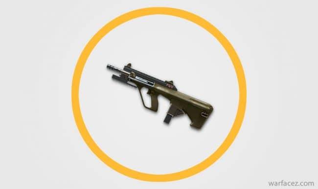 Пистолет-пулемёт инженера AUG A3 9mm XS - Warface