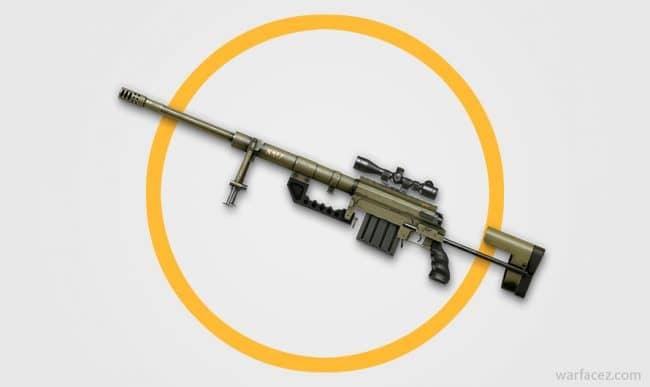 Снайперская винтовка CheyTac M200 в Warface