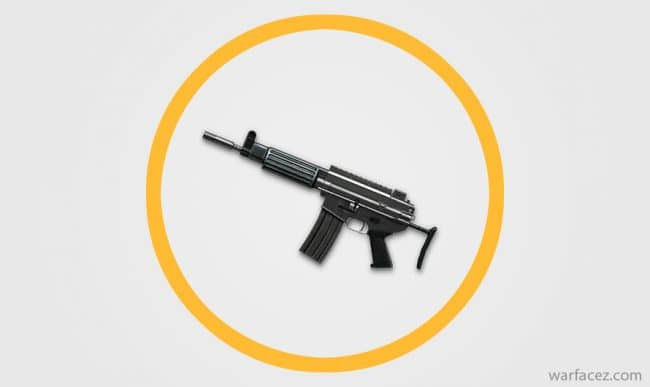 Пистолет-пулемёт инженера Daewoo K1 - Warface
