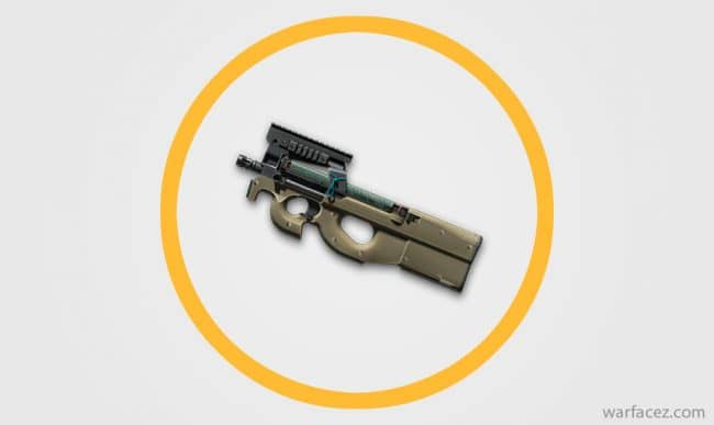 Пистолет-пулемёт инженера FN P90 - Warface