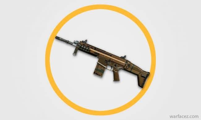 Винтовка штурмовика FN SCAR-H - Warface