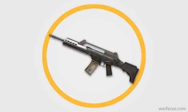 Винтовка штурмовика H&K G36K - Warface