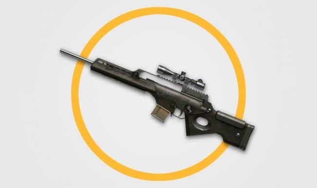 Снайперская винтовка H&K SL8 в Warface