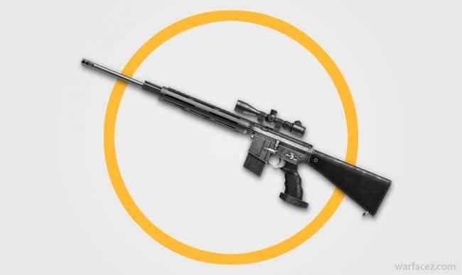 Снайперская винтовка M16 SPR Custom в Warface