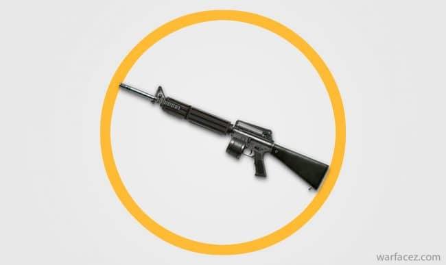 Пулемет штурмовика M16A2 LMG - Warface