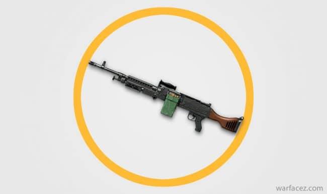 Пулемет штурмовика M240B - Warface