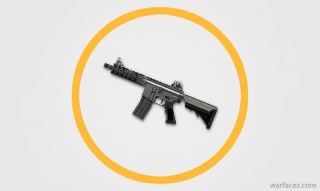 Пистолет-пулемёт инженера M4 CQB - Warface