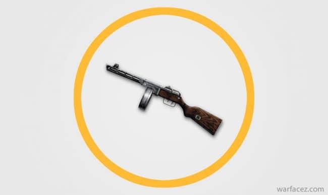 Пистолет-пулемёт инженера ППШ-41 - Warface