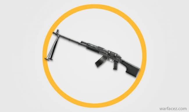 Пулемет штурмовика РПК - Warface