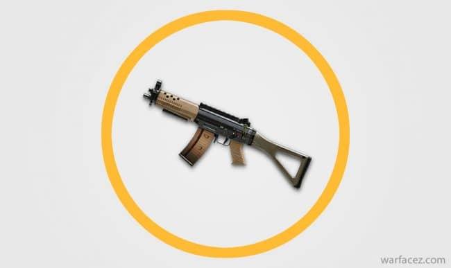 Пистолет-пулемёт инженера SIG 552 - Warface