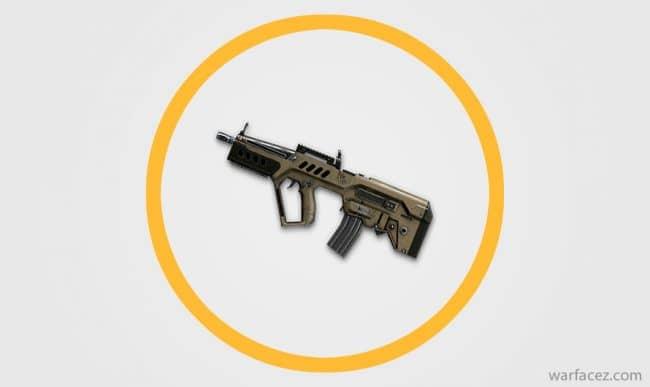 Пистолет-пулемёт инженера Tavor CTAR‐21 - Warface