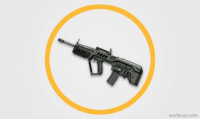 Винтовка штурмовика Tavor TAR-21 - Warface