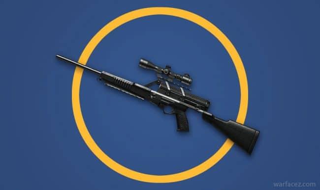 Снайперская винтовка Calico M951S в Warface