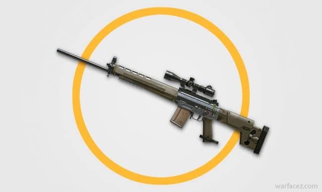 Снайперская винтовка SIG 550 в Warface