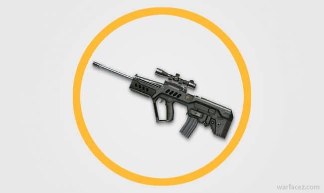 Снайперская винтовка Tavor SNR в Warface