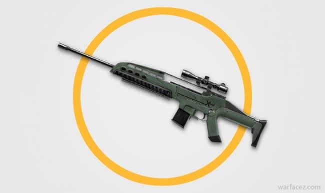 Снайперская винтовка XM8 Sharpshooter в Warface